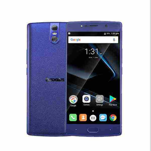 offertehitech-DOOGEE BL7000 5.5'' 13MP Doppia Fotocamera Posteriore 4GB RAM 64GB ROM MT6750T Octa-Core 7060mAh 4G Smartphone
