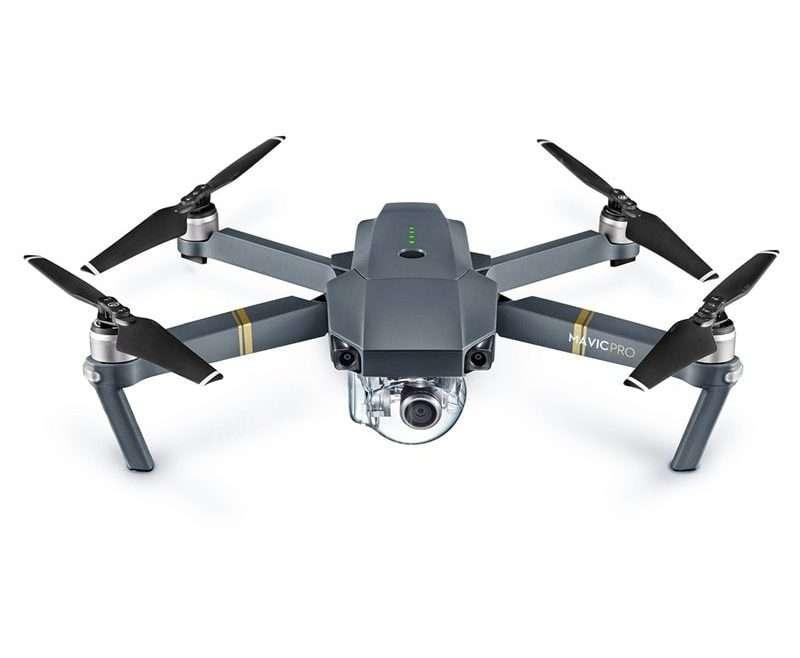 offertehitech-DJI Mavic Pro Mini RC Quadcopter - MAVIC PRO ONLY GRAY