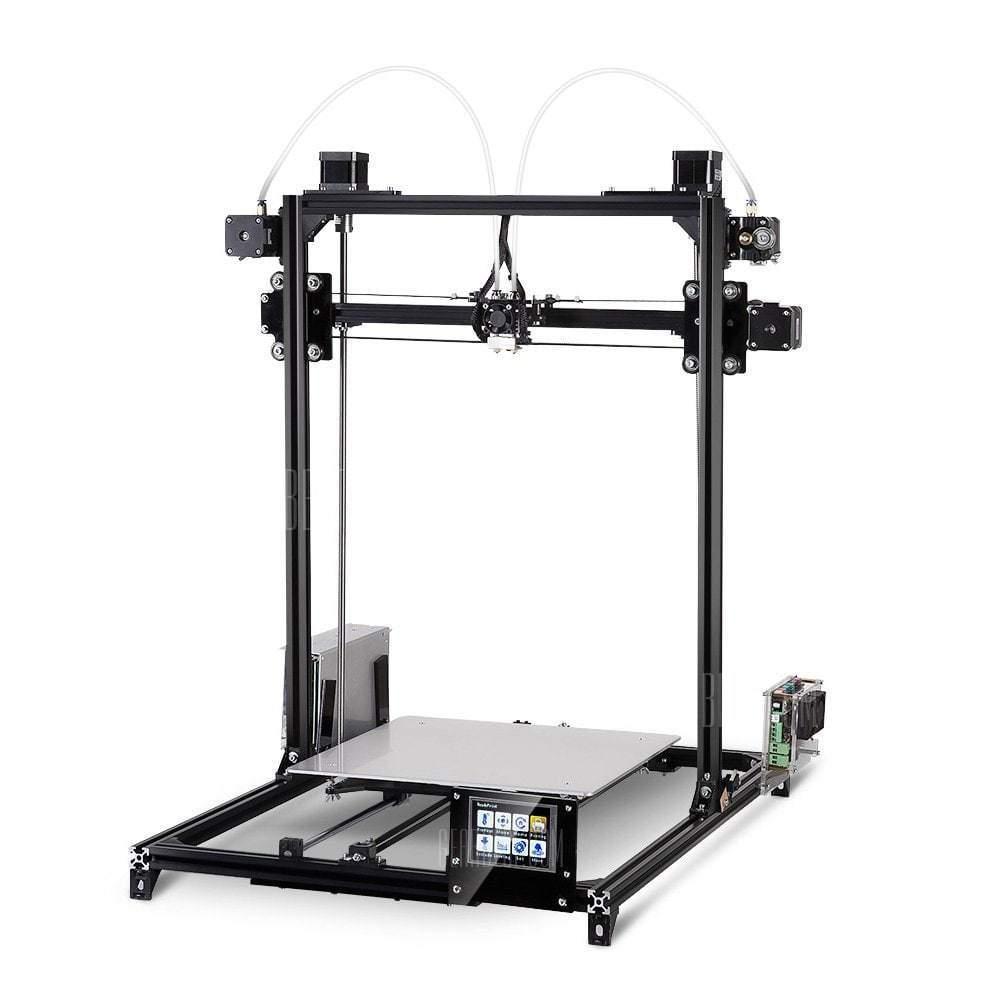 Flsun i3 plus extruder touch screen diy 3d printer kit a offerte hitech italia - 3d printer italia ...