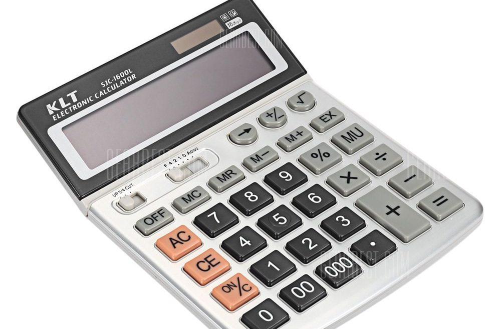offertehitech-gearbest-KLT SJC - 1600L Calculator