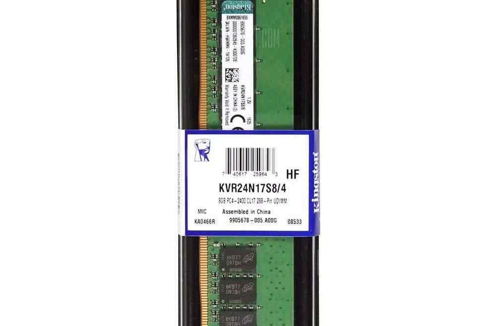 offertehitech-gearbest-Kingston ValueRAM KVR24N17S8 / 4 2400MHz Desktop Memory