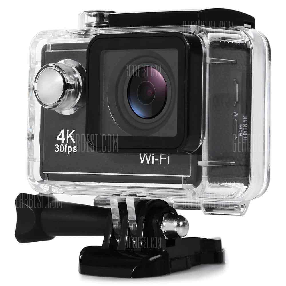 offerte so81 4k uhd wifi action sports camera allwinner v3. Black Bedroom Furniture Sets. Home Design Ideas