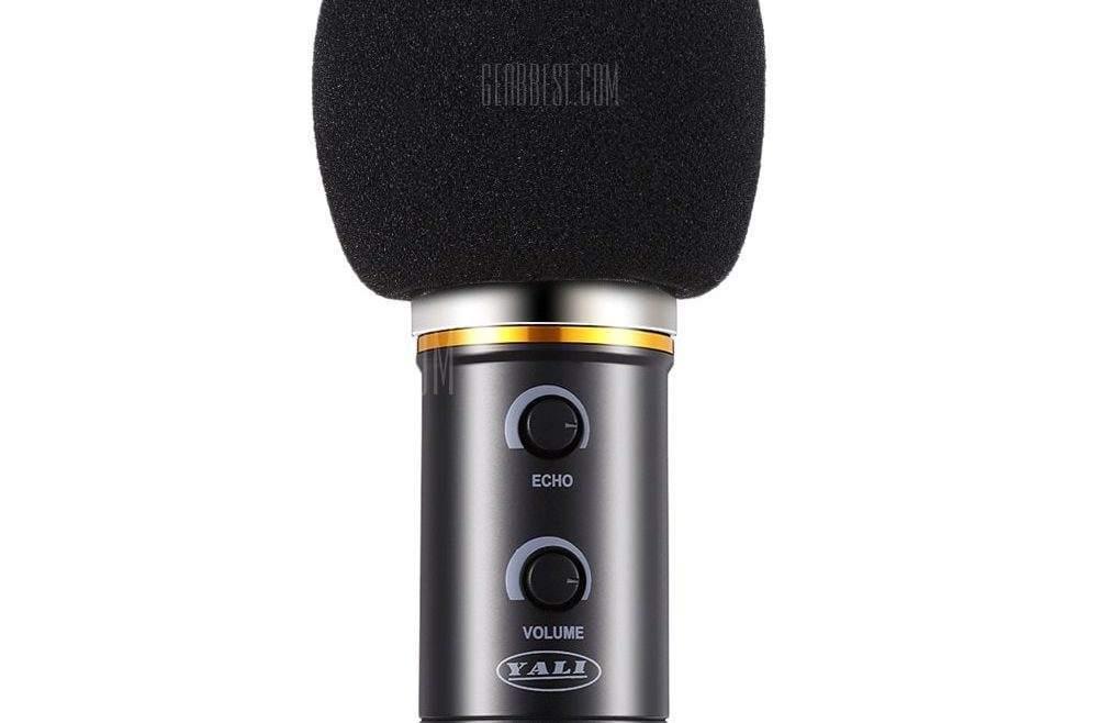 offertehitech-gearbest-YALI MK - F200FL 3.5mm Audio Wired Condenser Microphone