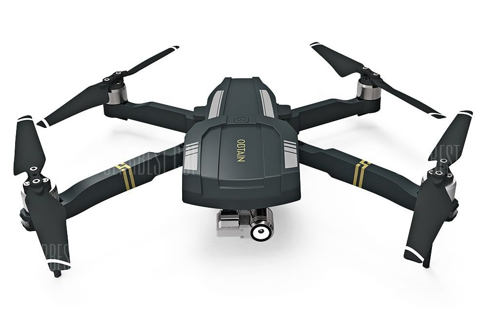 offertehitech-gearbest-C - FLY OBTAIN Foldable GPS RC Quadcopter