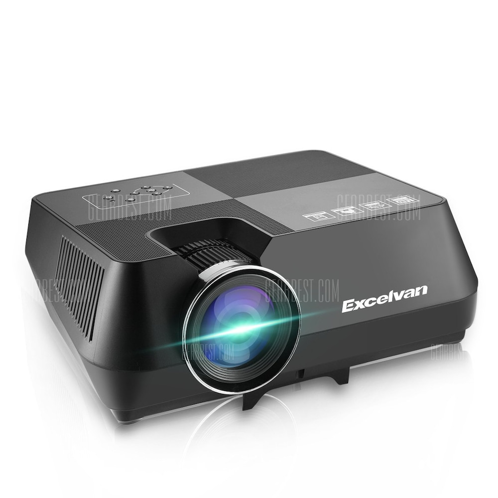 2018 New Home Projectors Theater Lcd 1080p Hd Multimedia: Excelvan GT-S8 800*480 Portable Multimedia LCD Projector
