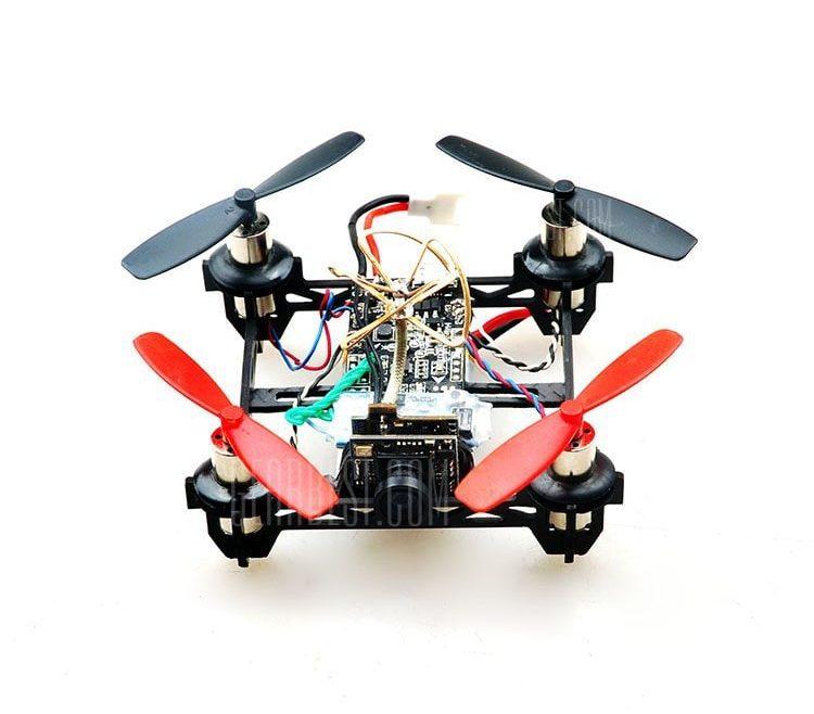 offertehitech-gearbest-Floureon QX80 80mm Mini RC Quadcopter Frame Kit - PNF