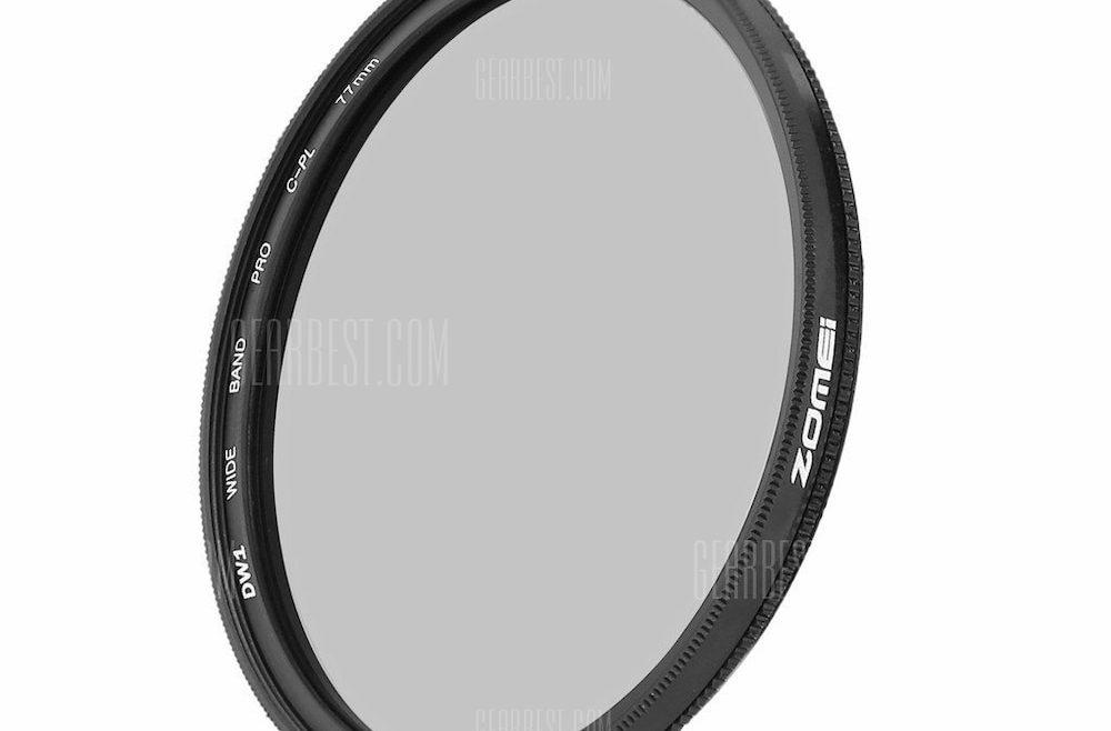 offertehitech-gearbest-ZOMEI Ultra Slim Circular Polarizing Polarizer Lens Filter