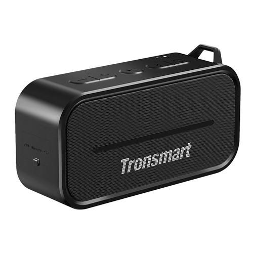 offertehitech-Tronsmart Element T2 Bluetooth 4.2 Outdoor Water Resistant Speaker - Black