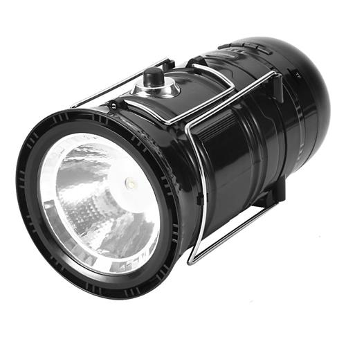 offertehitech-Virtoba X5 Bluetooth Speaker Light Multi-functional Music Lamp For Outdoor Camping - Black