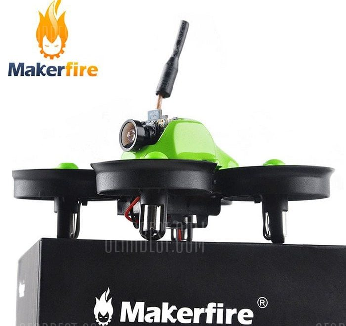 offertehitech-gearbest-Makerfire MICRO FPV 64mm Mini RC Racing Drone - BNF