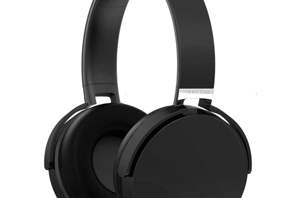 offertehitech-JAKCOM BH2 Bluetooth Headset with Mic Active Noise Reduction - Black