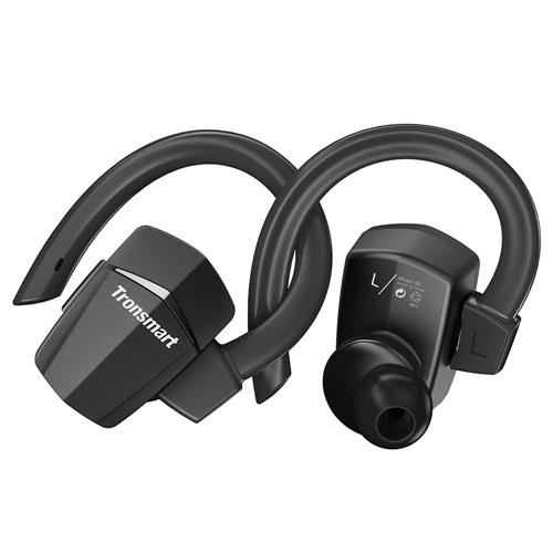 offertehitech-Tronsmart Encore S5 True Wireless Headphones Sports Bluetooth Earphones with Mic for iPhone Android and More - Black