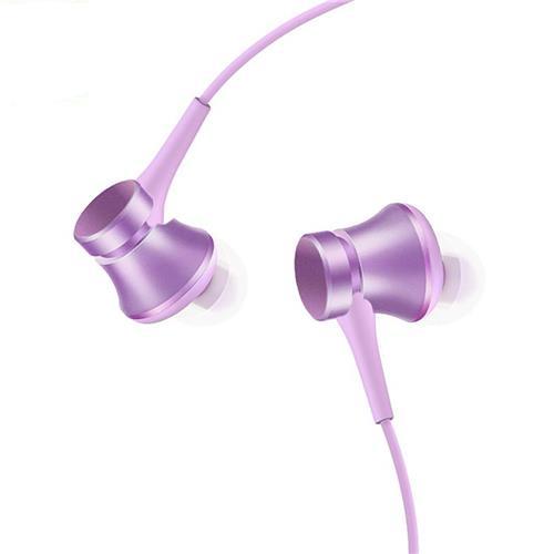 offertehitech-Original Xiaomi Piston Fresh Edition Earphone Wired Control Headphone with Mic - Purple