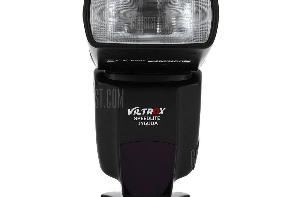 offertehitech-gearbest-VILTROX JY - 680A LCD Flash Speedlite Light