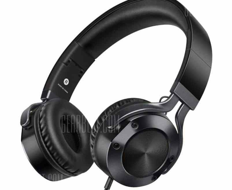offertehitech-gearbest-picun Sound Intone I9 Wired Foldable Strong Bass 3.5mm Cable Headset with Microphone