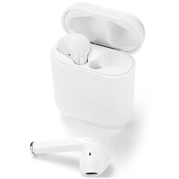offertehitech-gearbest-A7 Auricolari Bluetooth Senza Fili con Microfono e Custodia di Ricarica