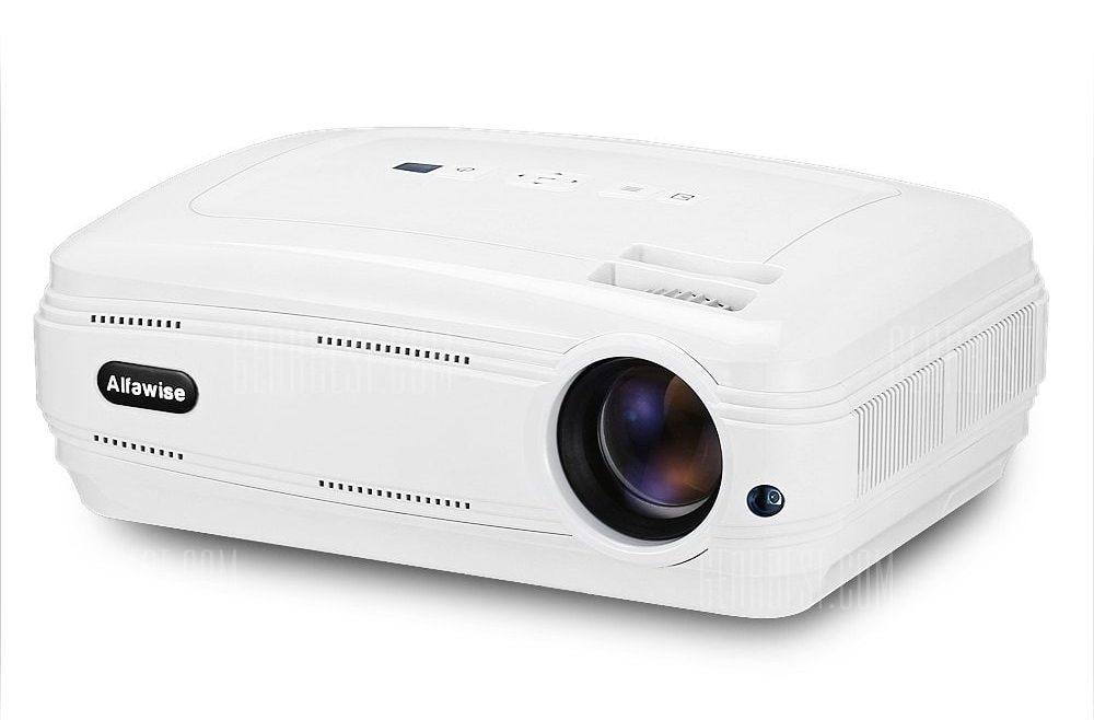 offertehitech-gearbest-Alfawise X 3200 Lumens HD 1080P Supporto per Proiettore Intelligente 4K