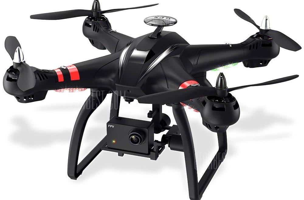 offertehitech-gearbest-BAYANGTOYS X22 1080P WiFi FPV RC Drone 3 Assi Gimbal