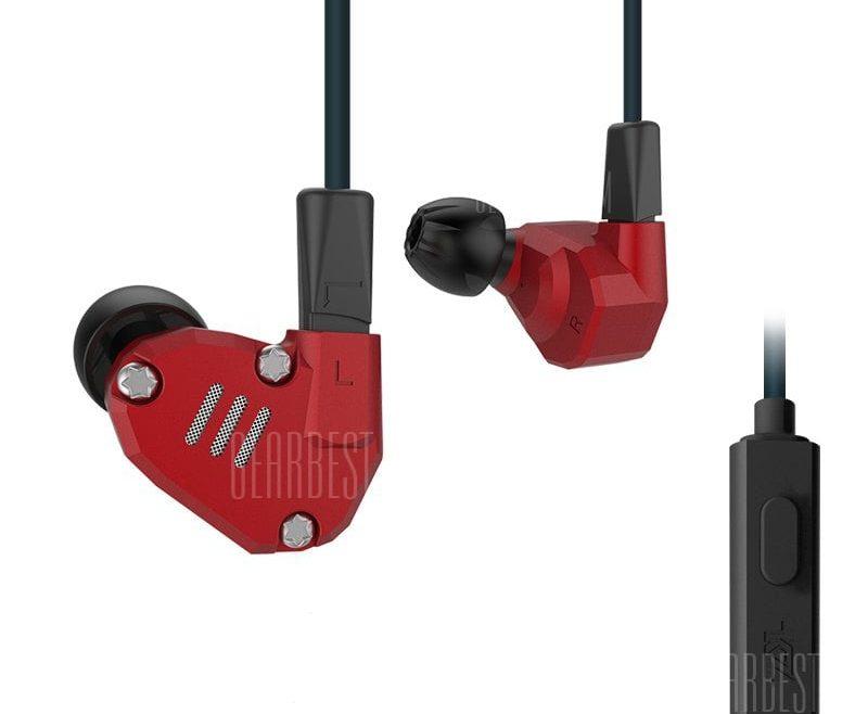 offertehitech-gearbest-KZ ZS6 Auricolari In-ear Personalizzati Ibridi Hi