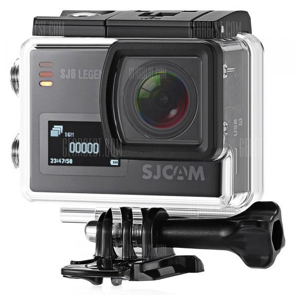 offertehitech-gearbest-Originale SJCAM SJ6 LEGEND 4K WiFi Fotocamera Sportiva