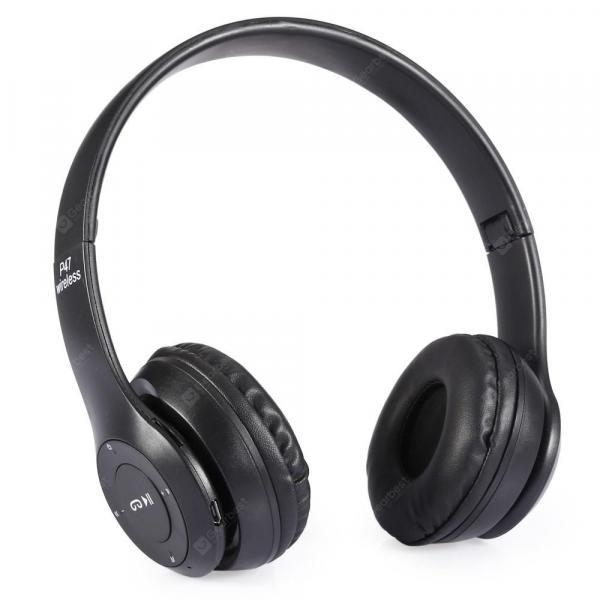 offertehitech-gearbest-Foldable Bluetooth Wireless Headset Noise Cancelling  P47  Gearbest