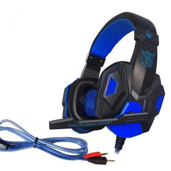 offertehitech-gearbest-Gaming Headset Desktop Laptop Remote Control With Microphone Headphone  Gearbest