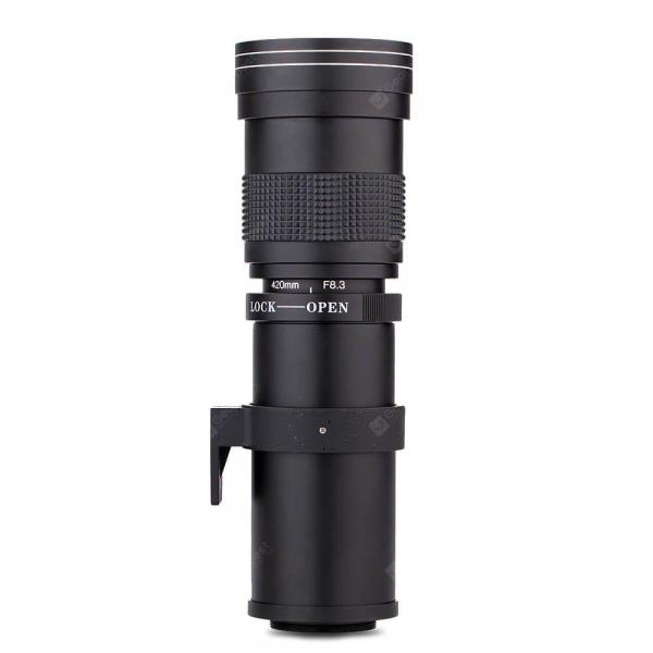 offertehitech-gearbest-Lightdow Varifocal 420 - 800mm Telephoto Lens  Gearbest