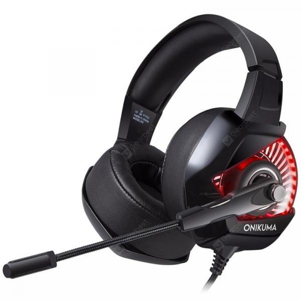 offertehitech-gearbest-ONIKUMA K6 Game Headset Stereo Headband Headphone  Gearbest