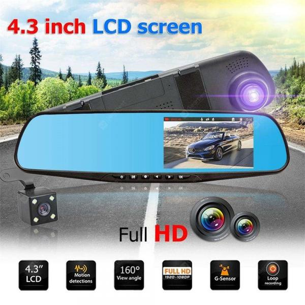 offertehitech-gearbest-XM201 Dual lens HD car SUV DVR video sprint camera 1080P cam driving recorder  Gearbest