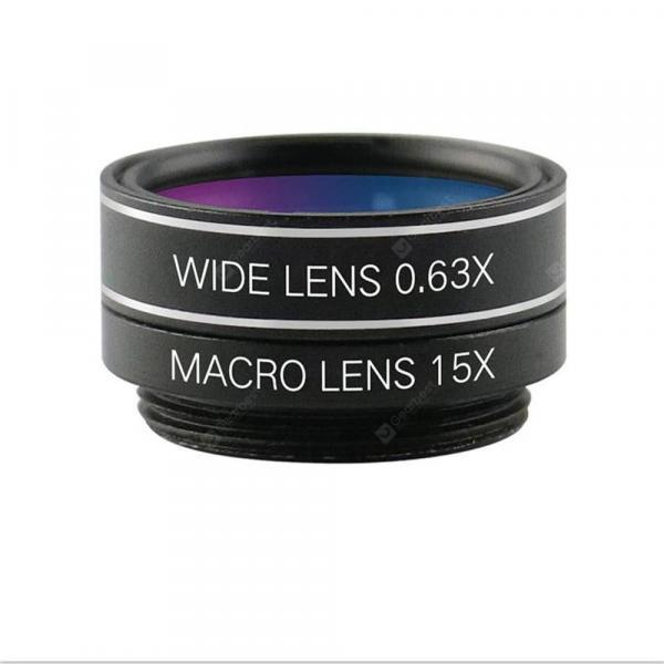 offertehitech-gearbest-NG1 6 in 1 Cell Phone Shooting Lens Wide-Angle Macro Portrait Hexaploid Mirror  Gearbest