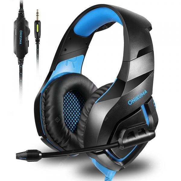 offertehitech-gearbest-ONIKUMA K1S Game Headset Over-ear Stereo Headphone  Gearbest