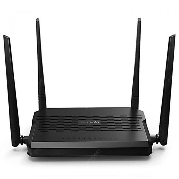 offertehitech-gearbest-Tenda D305 ADSL2+ Modem Wireless WiFi Router International Version EU Plug  Gearbest
