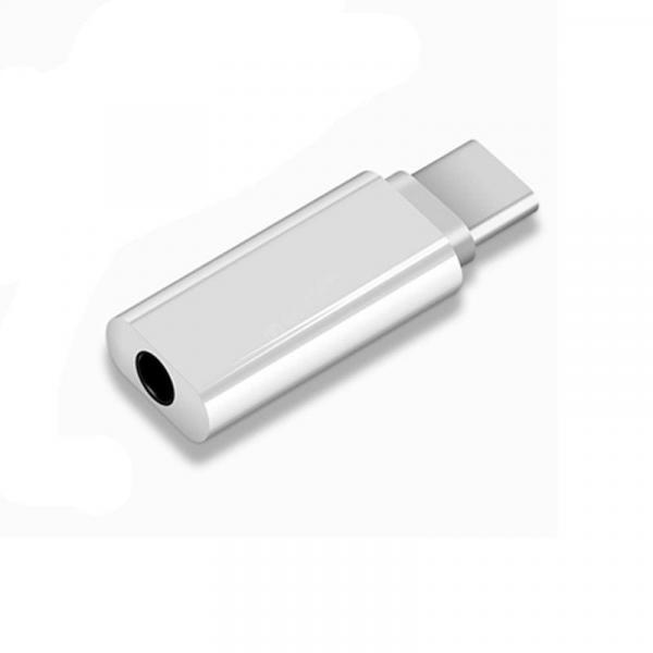 offertehitech-gearbest-Type C 3.5 Jack Earphone Cable USB C to 3.5mm Headphones Adapter  Gearbest