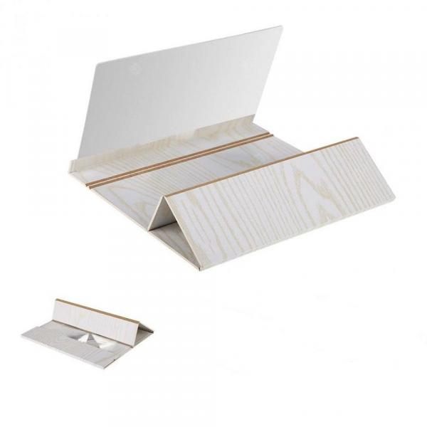 offertehitech-gearbest-12 Inch Original Wood Grain Mobile Phone HD Screen Eye Treasure Video Stand  Gearbest