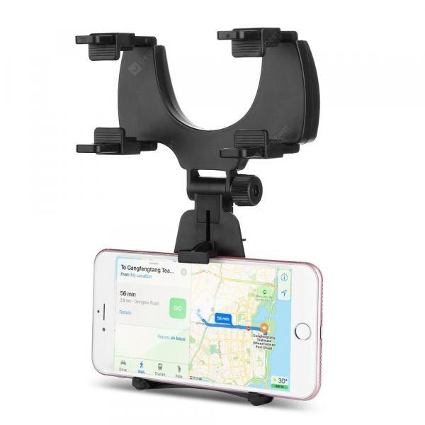 offertehitech-gearbest-360 Degree Rotation Rear View Mirror Mount Phone Holder  Gearbest