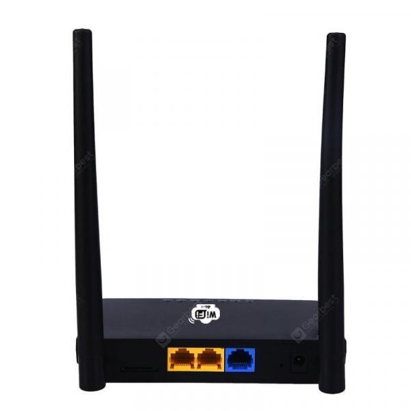 offertehitech-gearbest-4G 300 Mbps Wireless Router Wi-Fi European Adapter Black  Gearbest