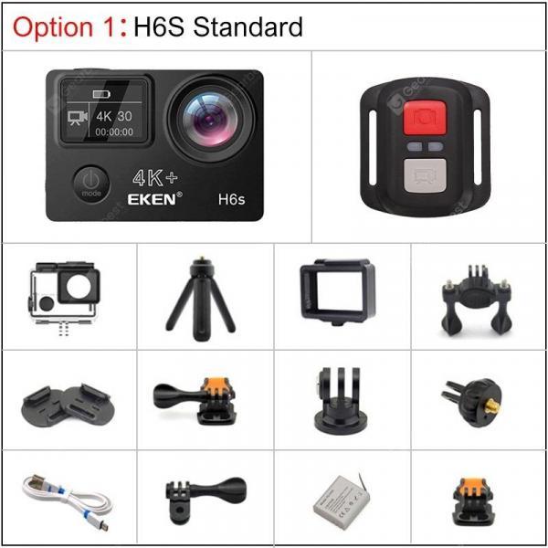 offertehitech-gearbest-EKEN H6S 4K Action Camera with Ambarella A12 chip 30M waterproof sport Cam  Gearbest