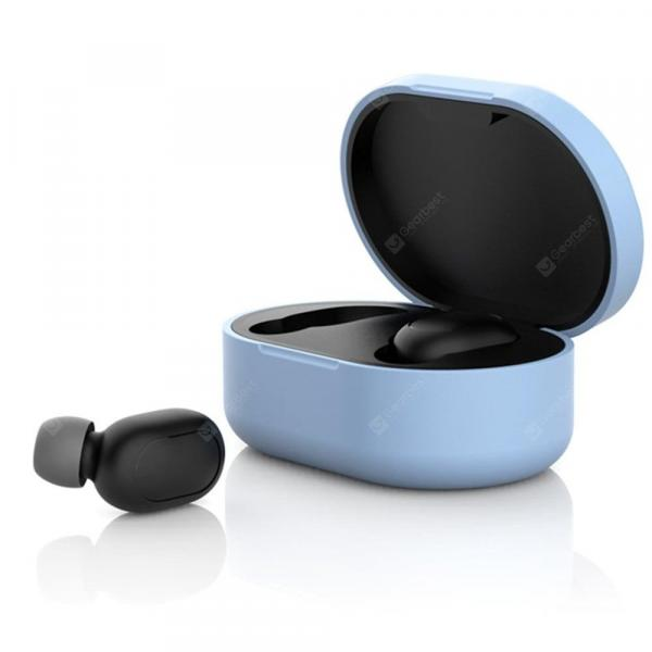 offertehitech-gearbest-Silicone Protective Case Cover for Xiaomi Redmi Airdots Bluetooth Earphone  Gearbest