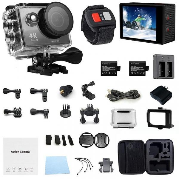 offertehitech-gearbest-Wifi Waterproof Action Camera Sport Extreme Mini Helmet Cam Recorder Diving  170 Degree Wide Lens  Gearbest