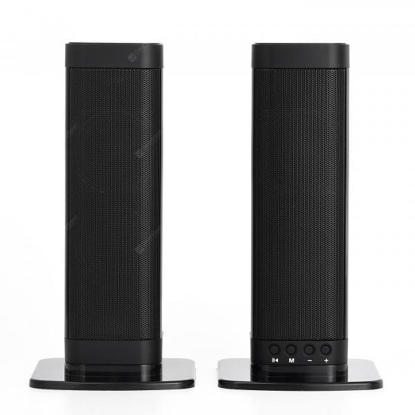 offertehitech-gearbest-Bilikay BKS-33 Black Speakers