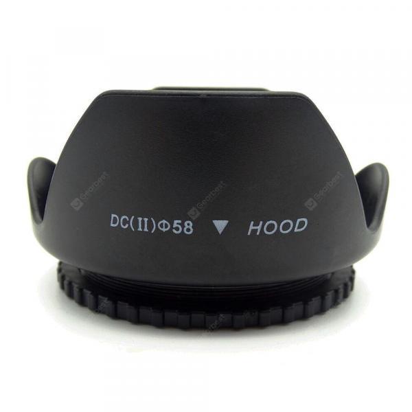 offertehitech-gearbest-Camera Lens Black 58MM Lens
