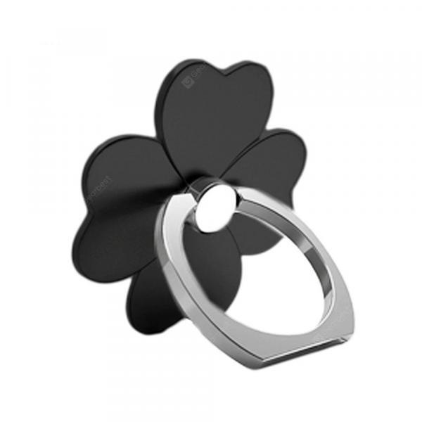 offertehitech-gearbest-Clover 360 Degree Mobile Finger Ring Holder Mobile Phone Stand