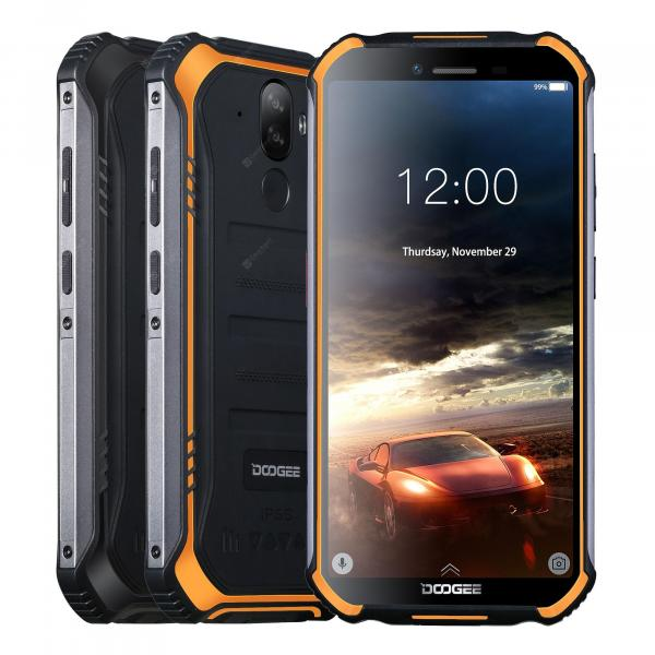 offertehitech-gearbest-DOOGEE S40 Rugged Mobile Phone 5.5inch 4650mAh MT6739 Quad Core 3GB 32GB Android 9.0 8.0MP IP68