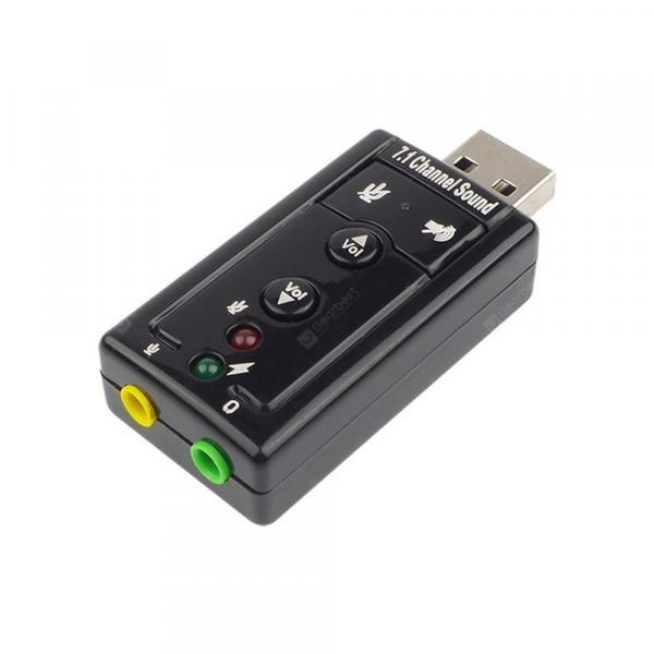 offertehitech-gearbest-Hot USB 2.0 3D External 7.1 Channel Virtual 12MBPS Audio Sound Card Adapter