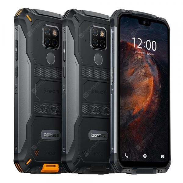 offertehitech-gearbest-IP68 Waterproof DOOGEE S68 Pro Rugged Phone Wireless Charge NFC 6300mAh 12V2A Charge 5.9 inch FHD
