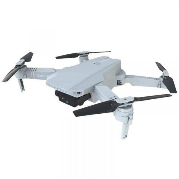 offertehitech-gearbest-KF609 Folding Drone White 720P+Color Box RC Quadcopters