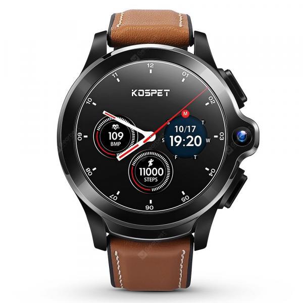 offertehitech-gearbest-KOSPET Prime Black Smart Watch Phone