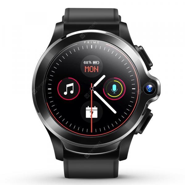 offertehitech-gearbest-KOSPET Prime SE Black Smart Watch Phone