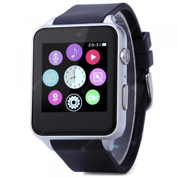 offertehitech-gearbest-KingWear GT88 Silver Smart Watch Phone