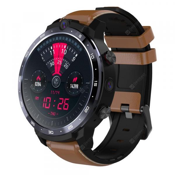 offertehitech-gearbest-OUKITEL Z32 Brown Smart Watch Phone